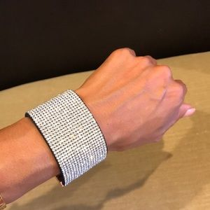 Gorgeous Rhinestone Cuff Bracelet